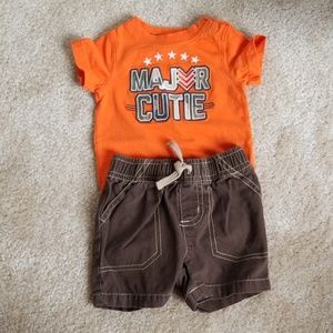 Baby Boy's Jumping Bean Outfit